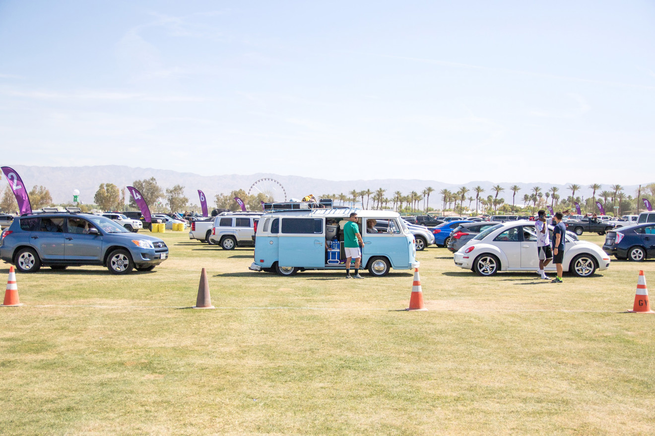 Coachella 16: Car Camping